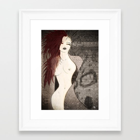 plume Framed Art Print