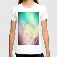 Come Closer Womens Fitted Tee White SMALL