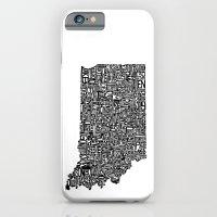 Typographic Indiana iPhone 6 Slim Case