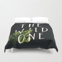 The Wild One Duvet Cover