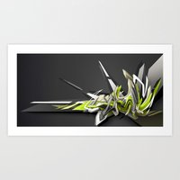 Swinging DAIM Art Print