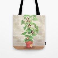 Attack On Beanstalk Tote Bag