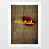 Superbad - Blood Brothers Art Print