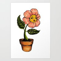 wildwood flower Art Print