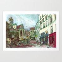 Parisia Art Print