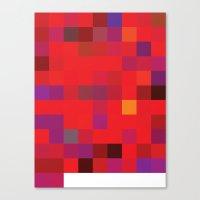 72-10 (96 Bulls) Canvas Print