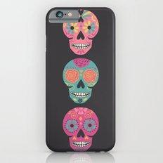 Three Amigas Sugar Skulls Slim Case iPhone 6s