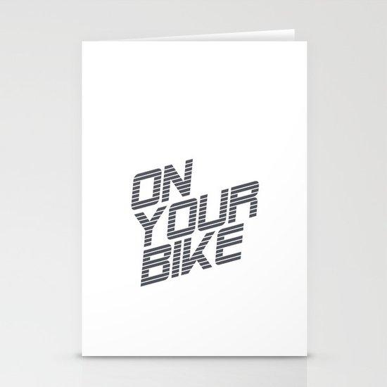Bike. Stationery Card