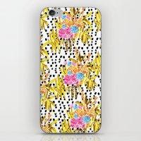 Patterned Bouquet II iPhone & iPod Skin