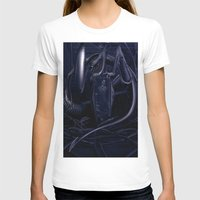 alien T-shirts featuring Alien by MatoSwamp