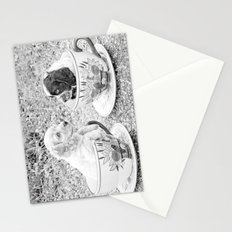 Teacup Puppies. Stationery Cards