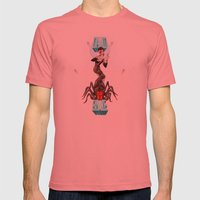 Spiders from Mars  Mens Fitted Tee Pomegranate SMALL