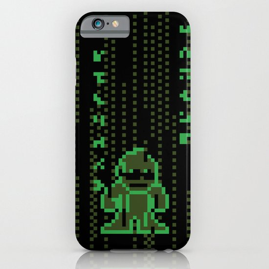 The Pixel Matrix iPhone & iPod Case
