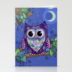 Owl Night 2 Stationery Cards