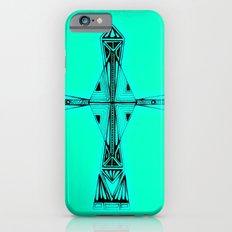 cross-aqua Slim Case iPhone 6s