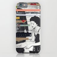 iPhone & iPod Case featuring I'm scared by Eva Squall