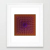 Endless Yin Yang Framed Art Print