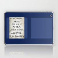 Pull To Open! Laptop & iPad Skin