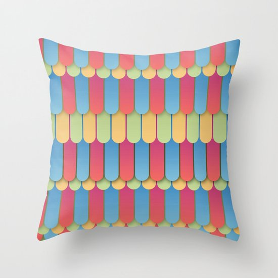 Abstract 18 Throw Pillow