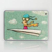 Paperplane2 Laptop & iPad Skin