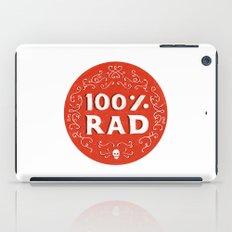 100% Rad iPad Case