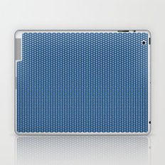 Navy Spotty Pattern Design Laptop & iPad Skin