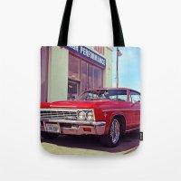 Impala Red Tote Bag
