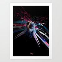 THE DANCER 1 Art Print