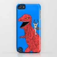 iPod Touch Cases featuring Dinosaur B Forever by Isaboa