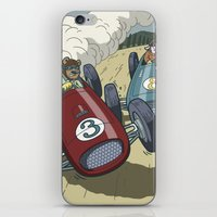 Hot Rods and Racing Cars No.26 iPhone & iPod Skin