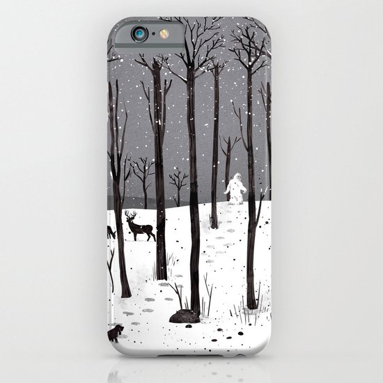 Mister Yeti's Great Escape iPhone & iPod Case