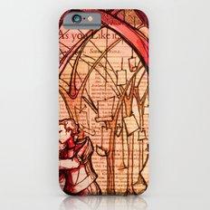 As You Like It - Shakespeare Romance Folio Illustration iPhone 6 Slim Case