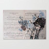 Chanson Russe Canvas Print