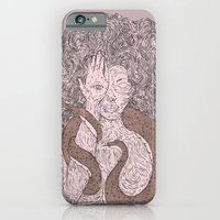 Snake and Sprite: Pink iPhone 6 Slim Case