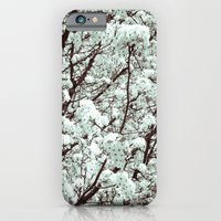 iPhone & iPod Case featuring Winter Petals by Jillian Michele