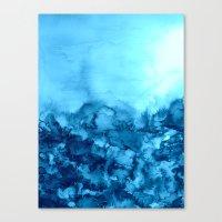 INTO ETERNITY, TURQUOISE… Canvas Print