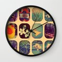 Spring collage Wall Clock