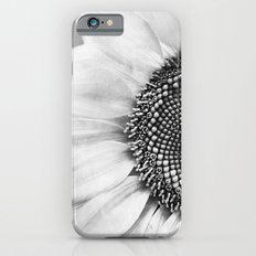 B&W Sunflower iPhone 6 Slim Case