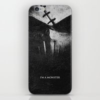 Monster.Scratch. iPhone & iPod Skin