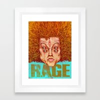 Carrot Top - ArtBattleLA Framed Art Print