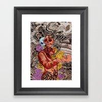 Real OK Framed Art Print