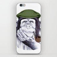 Wise Mr. Chimp iPhone & iPod Skin