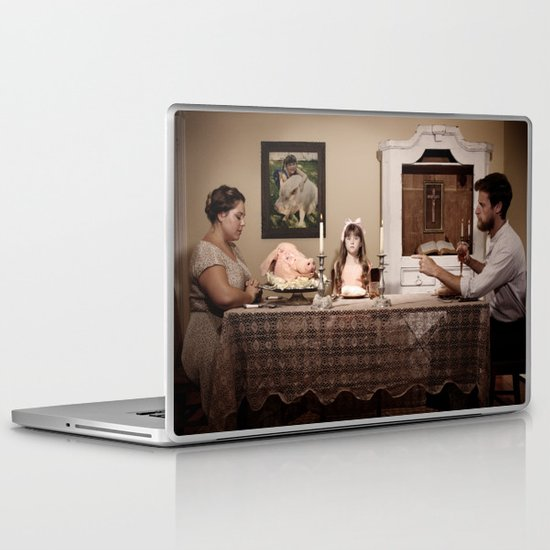 """You're eating him"" Laptop & iPad Skin"