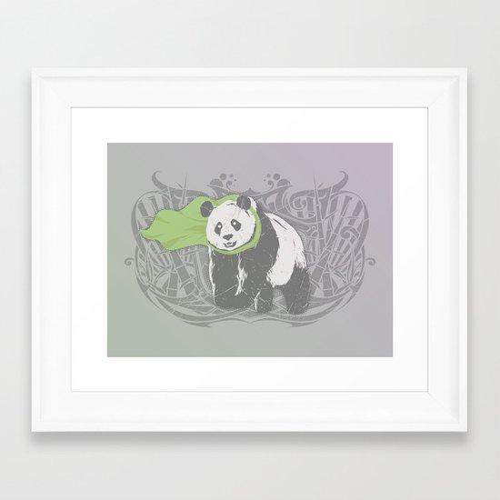 Fearless Creature: Bam Framed Art Print