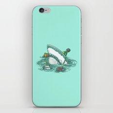 Happy Birthday Shark iPhone & iPod Skin