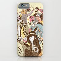 iPhone & iPod Case featuring The Great Horse Race! by Dushan Milic