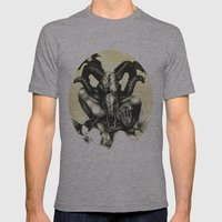 The Ram and the Crows Mens Fitted Tee Athletic Grey SMALL