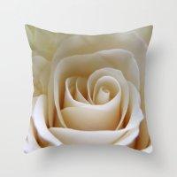 Yellow Roses #24 Throw Pillow