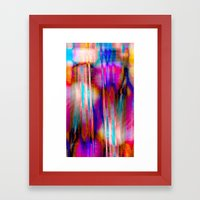 Pick-up Sticks No21 Framed Art Print