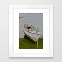 Bateaux Framed Art Print